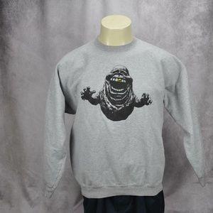 Hanes Mens Slimer Ghostbusters Graphic Sweatshirt